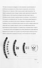 sonic infrasonic and ultrasonic frequencies the utilisation of sonic infrasonic and ultrasonic frequencies the utilisation of waveforms as weapons apparatus for psychological manipulation