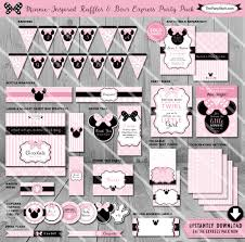 Minnie Mouse Baby Shower Decorations Minnie Mouse Baby Shower Decorations Printable