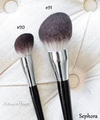 sephora collection pro featherweight brush review 91 powder body 90 foundation plexion