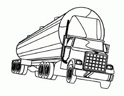 Are you interested in driving custom trucks with custom cargo? Semi Truck Coloring Pages For Kids Drawing With Crayons