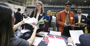 Roux Recruiting At Hofstra Engineering Computer Science Fair