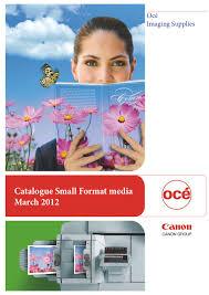 Canon <b>Océ</b> Office Catalogue 2012 by <b>Océ</b> Belgium NV - issuu