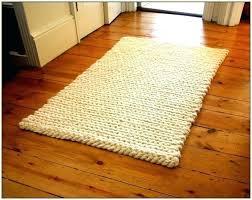 chunky wool rug braided rugs yarn crochet knit diy cool grey c chunky braided wool rug