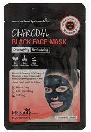 Mbeauty <b>тканевая детокс</b>-<b>маска</b> Charcoal Black Face Mask ...