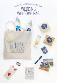 how to build an awesome wedding welcome bag snippet ink