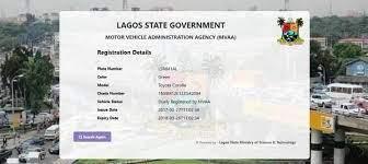 lagos state vehicle registration
