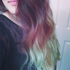 Using A Light Blue Hair Dye