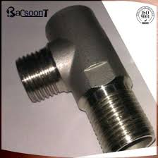 Investment Casting Stainless Steel Carbon Steel Steel Lost Wax Casting Investment Casting Precision Casting Tee Coupling Steel Part Pipe Fitting With Sandblasting