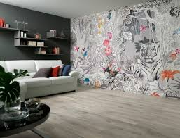 Lets bring in Nature into our homes through wallpaper designs;