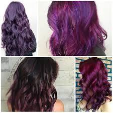Lavishing Purple Hair Colors 2017   New Hair Color Ideas \u0026 Trends ...
