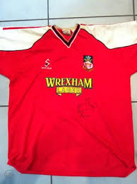 The total size of the downloadable vector file is 0.09 mb and it contains the wrexham fc logo in.eps. Wrexham Fc Signed Match Worn Shirt Darren Ferguson Wst 161997566