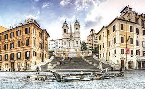 Heute ist die spanische treppe einer der beliebtesten treffpunkte von touristen und den einwohnern von rom. Spanische Treppe Hotel Barberini