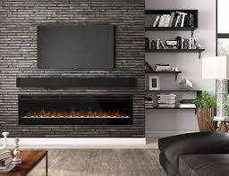 tv friendly fireplace go electric