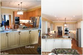 paint kitchen cabinets before and afterPainted Cabinets Nashville TN Before and After Photos