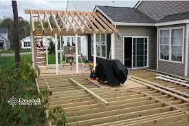 diy gable roof over deck ideas
