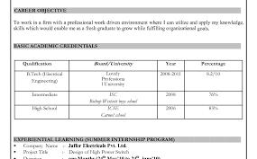 Resume Resume Format Download Resume Ms Word Format Download