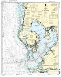 Nautical Map Of Tampa Tampa Bay And St Joseph Sound