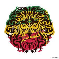 Fotografie Obraz Rasta Lion Vector Posters Cz