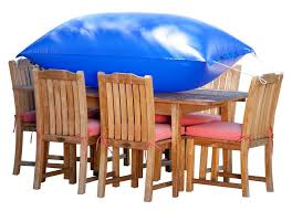 rectangular patio furniture covers. Amazon.com : Duck Covers Elite Rectangle / Oval Patio Table \u0026 Chair Set Cover With Inflatable Airbag To Prevent Pooling, 109-Inch Rectangular Furniture R