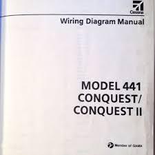 cessna conquest and conquest ii model wiring diagram manual