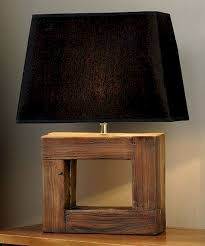 Best 25 Rustic Table Lamps Ideas Diy Table Lamps Handmade Table