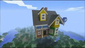 Up House Balloons Minecraft Up The Movie House Youtube