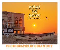 Tide Chart Ocean City Nj Down The Shore Calendars