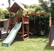 <b>R-3:</b> Refurbished Backyard Adventures Play Set