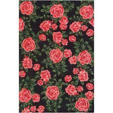 botany quinn poppy red 8 ft x 10 ft indoor area rug