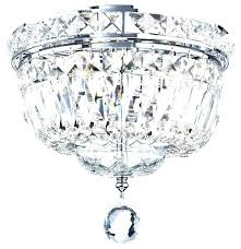 square flush mount crystal chandelier lighting crystal square square crystal ball 8 inch flush mount ceiling