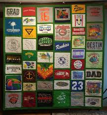 T Shirt Quilt Pattern With Different Size Blocks Simple Custom Memory Quilts TShirt Quilts