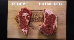 prime rib steak vs ribeye. Plain Steak Inside Prime Rib Steak Vs Ribeye A