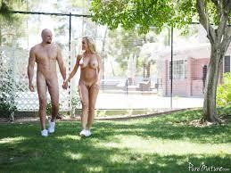 Brandi Love on Pure Mature in Courtyard Cougar