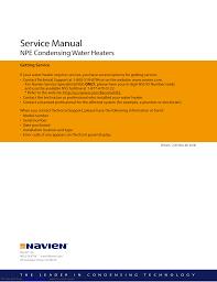 navien venting chart navien npe service instructions