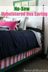 diy upholstered box spring upholstered bed upholstered box spring diy fabric covered box