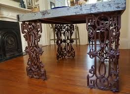 wrought iron and wood furniture. Hand Made New Orleans Dining Room Table From Distressed Wood And Wrought Iron By Doorman Designs | CustomMade.com Furniture O