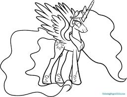 my little pony princess celestia colori great my little pony coloring pages princess celestia