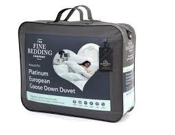 fine bedding platinum european goose down duvet