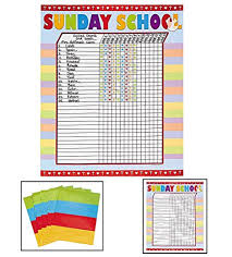 Sunday School Attendance Chart Free Printable Printable Attendance Sticker Chart Www Bedowntowndaytona Com