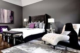 bedroom colors with white furniture. The White Furniture In This Room Creates A Striking Contrast To Black, Grey, Bedroom Colors With H