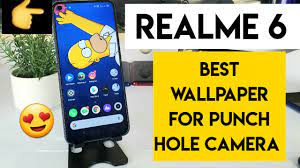 Realme 6 wallpaper for punch hole ...