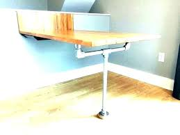 drop down wall desk table mounted folding fold out cabinet