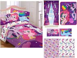 my little pony toddler bedding and curtain