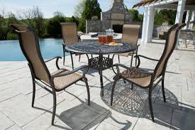 cool outdoor furniture. 5 piece desert rose dining set by tropitone furniture for cool outdoor ideas