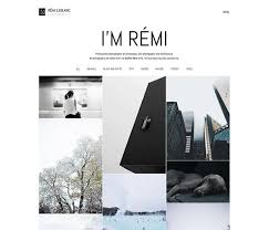 Photography Website Templates Gorgeous Photography Website Templates New Photography Themes Every Month
