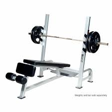 york weights. york commercial olympic decline weight bench weights