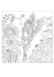 Fleurs Et V G Tation Coloriages Difficiles Pour Adultes Justcolor