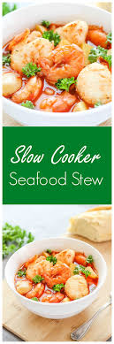 Slow Cooker Seafood Stew Recipe - I ...