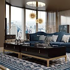 art deco furniture north london. art deco inspired mirrored coffee table furniture north london