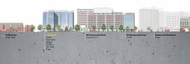 there is a 600 bedroom novotel adjacent to 3 shortlands and an on site virgin active gym